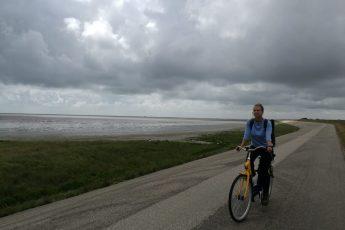 Fahrrad fahren auf Texel