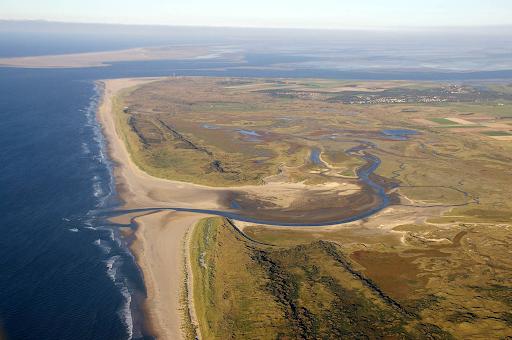 De Slufter von oben, Quelle: campingoudesluis.nl