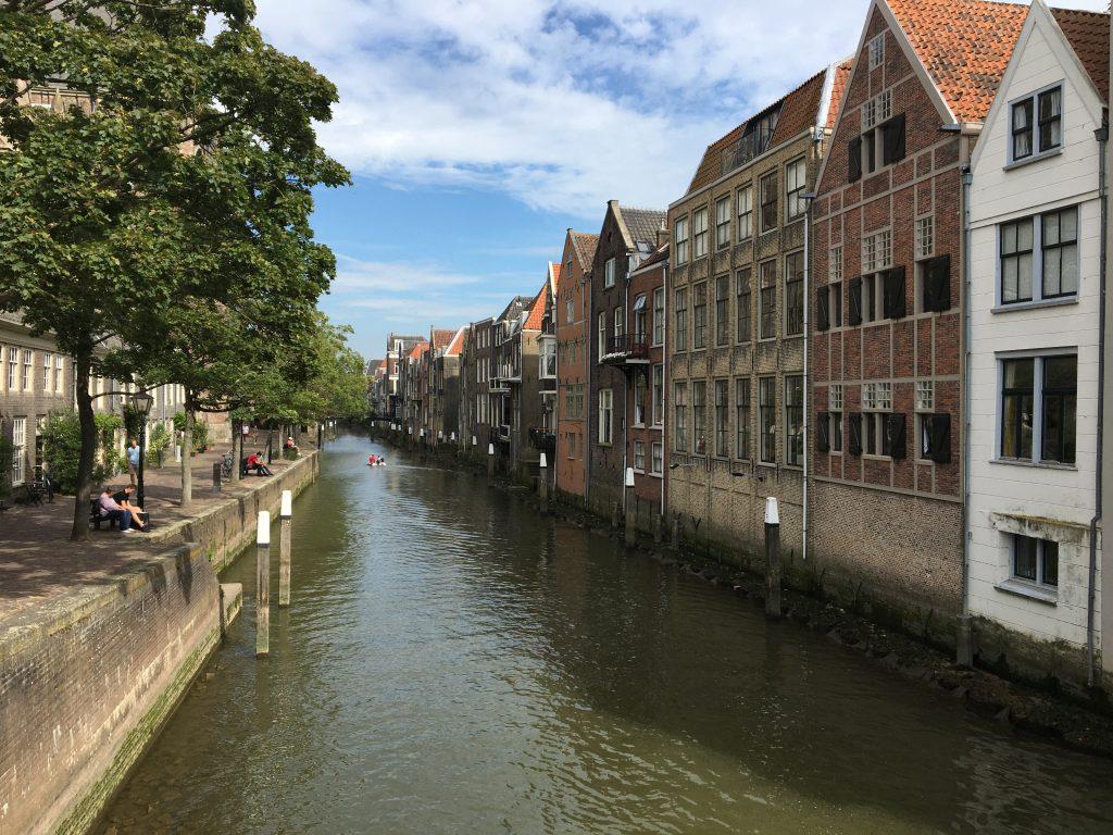 Endstation unserer Radtour durch Südholland: Dordrecht
