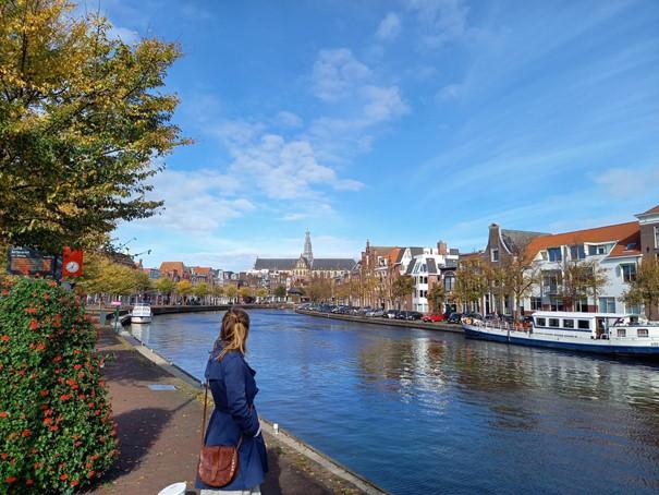 Haarlem Blick auf die Groote Kerk