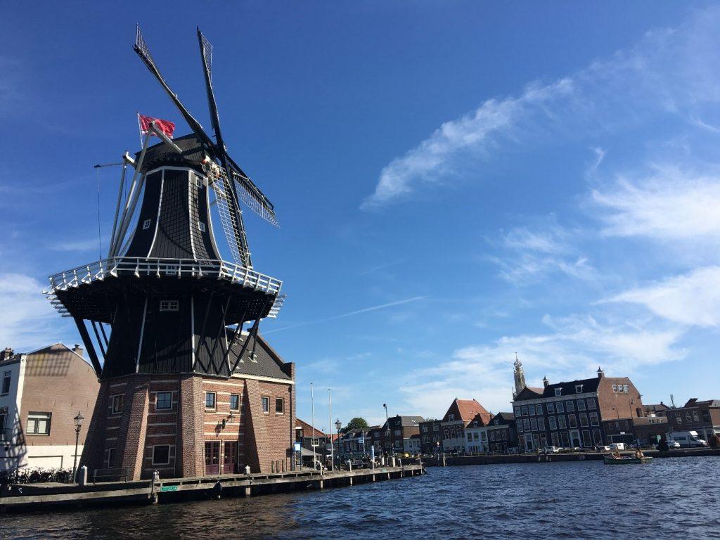 Die Windmühle Adriaan in Haarlem