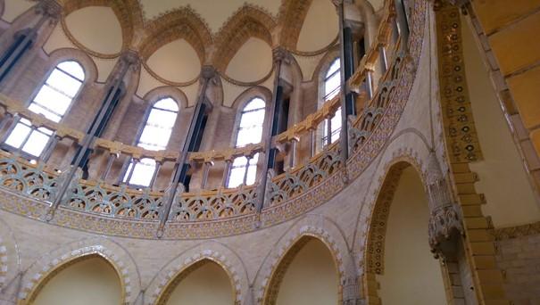 Die St. Bavo Kathedrale von Haarlem von drinnen