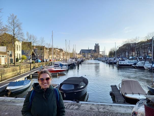 Blick auf die Liebfrauenkirche von Dordrecht