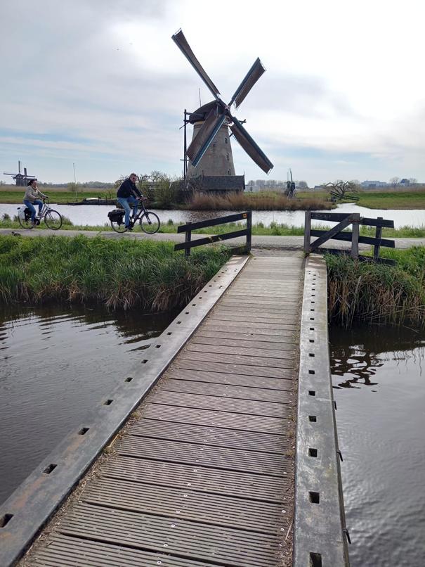 Windmühle am Kinderdijk