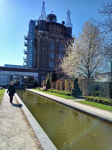 Die Villa Augustus im Biesbosch