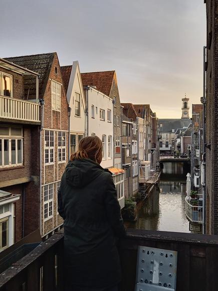 Aussicht in Dordrecht