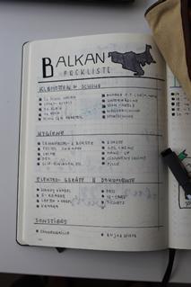 Packliste für die Niederlande, ein Beispiel vom Balkan Trip